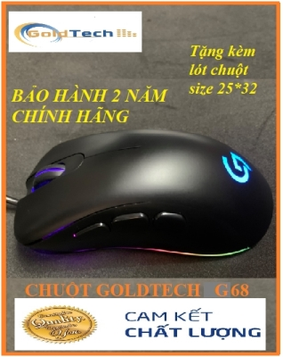 Chuột Game Goldtech G68