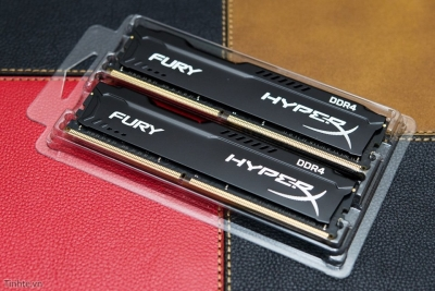 Ram PC Kingston HyperX Fury Black 8GB Bus 2400 DDR4